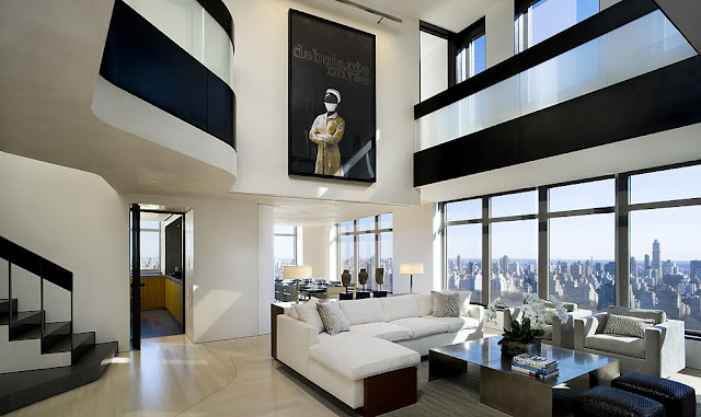 new york, architecture, penthouse, luxury, manhattan