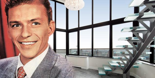 Frank Sinatra's penthouse in Manhattan, a modern space from an eternal voice sinatra