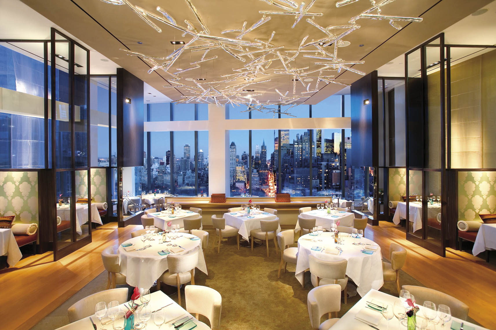 restaurants TOP 10 Best-Looking Restaurants in New York asiate