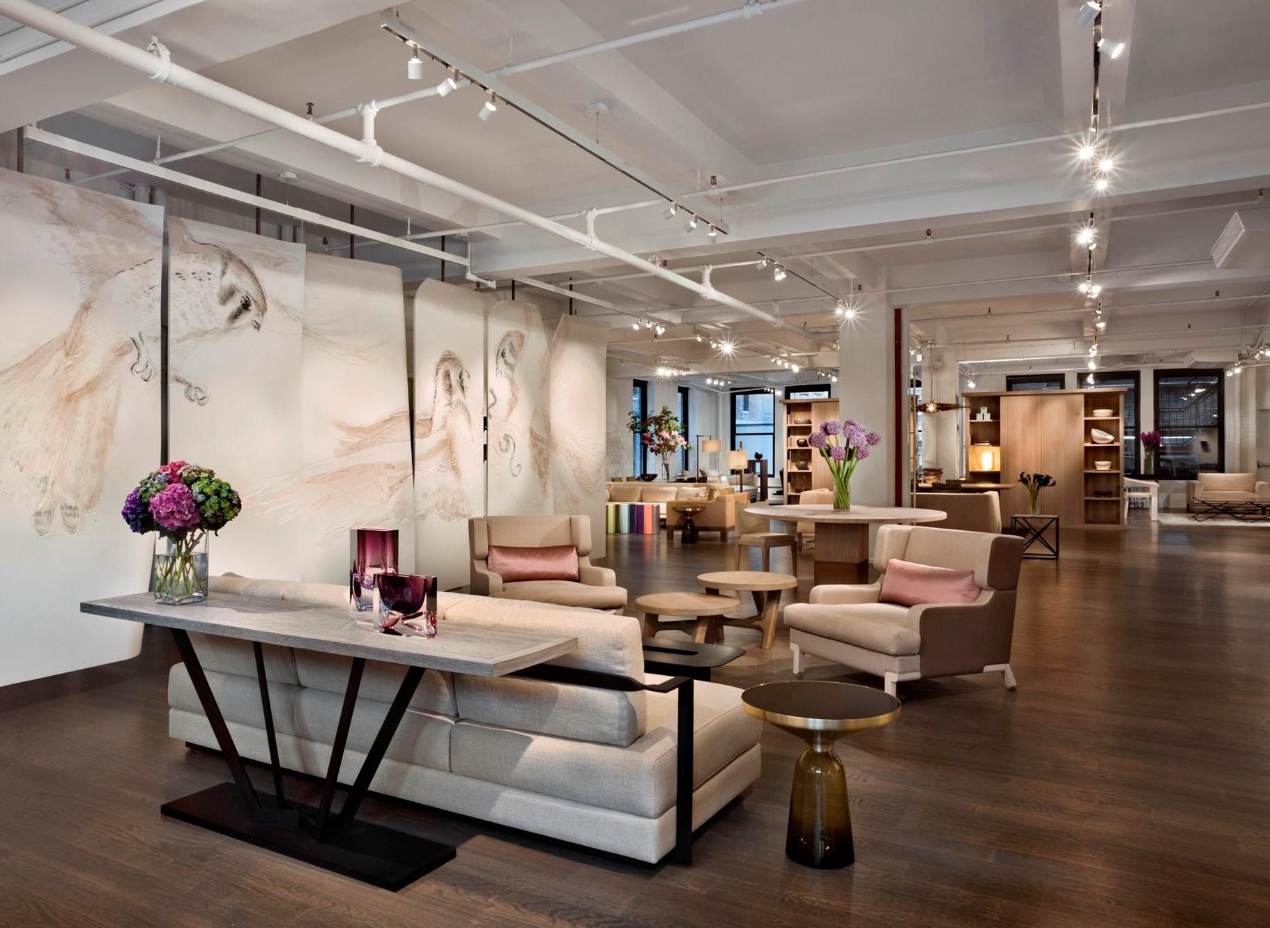 Interior design showrooms new york for Best decorators nyc