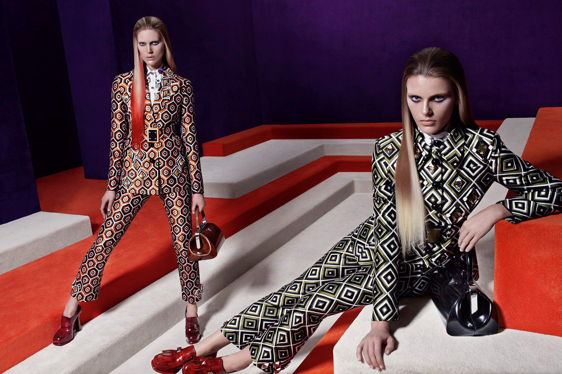 Prada Fall Winter 2012  Luxury Fashion Top 10 Luxury Fashion Campaigns of 2012 pradafall12