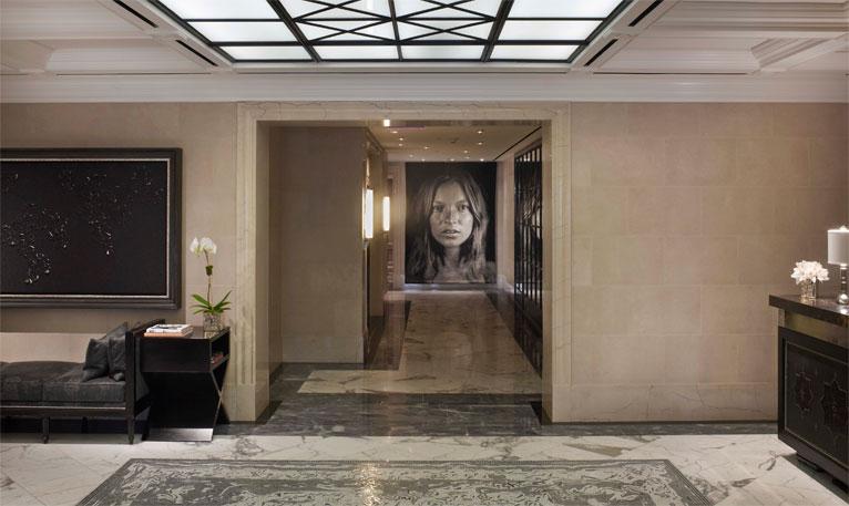 The-Surrey-Hotel-Lobby-Chuck  The Surrey Hotel in Manhattan LobbywChuckClose