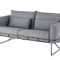 """Herman Miller introduced the new Wireframe Sofa Group during the New York Design Week 2013, designed by Sam Hecht and Kim Colin. """