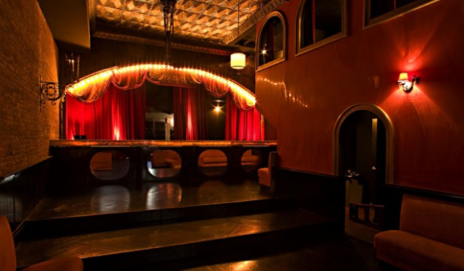 """""""Tribeca is a trendy neighborhood in New York city and is known for a few things, like wealthy people, Robert DeNiro, and strollers. Take a look at the best bars in Tribeca, here, and enjoy a nice drink in really good company.""""  Enjoy Tribeca nightlife Theater Bar"""