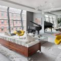 Exclusive Street Apartment Design in Tribeca exclusive design stunning tribeca street apartment 120x120