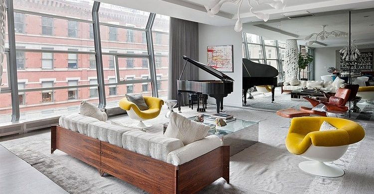 Exclusive Street Apartment Design in Tribeca  Exclusive Street Apartment Design in Tribeca exclusive design stunning tribeca street apartment 750x390