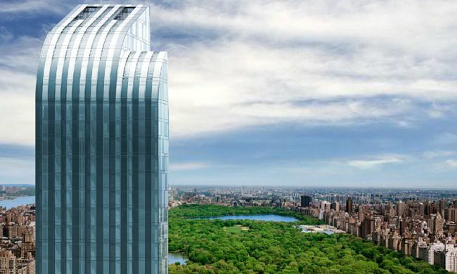 New York Luxury Apartments | The One57  New York Luxury Apartments | The One57 One57 Development NYC 650x390