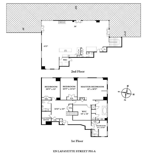 nyc penthouse Rihanna's $14 Million Dollar NYC Penthouse floor plan nyc new york penthouse