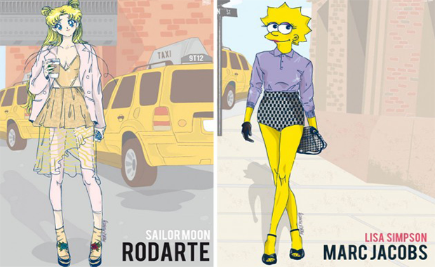 New York Fashion Week: Michele Moricci revives 90s Cartoon Character Outfits