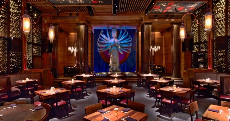 David Rockwell designs Tao Downtown restaurant, bar and lounge in New York