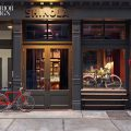 OUR MOST POPULAR ARTICLE OF 2014: Shinola Shop designed by Rockwell Group 440522 At the Rockwell Group s Shinola in TriBeCa bronze signage accents the cast iron facade Photography by Eric Laignel 1 120x120