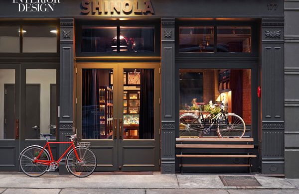 OUR MOST POPULAR ARTICLE OF 2014: Shinola Shop designed by Rockwell Group  OUR MOST POPULAR ARTICLE OF 2014: Shinola Shop designed by Rockwell Group 440522 At the Rockwell Group s Shinola in TriBeCa bronze signage accents the cast iron facade Photography by Eric Laignel 1 600x390