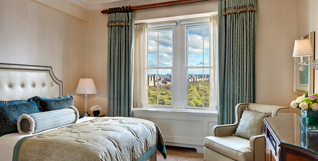 Top hotels to relax in NYC  Top hotels to relax in NYC 8 the pierre park view room 6501