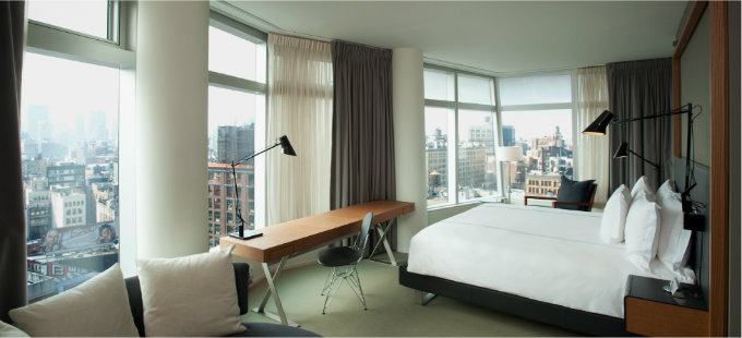 Top 5 design hotels in NYC that will blow your mind_THE STANDARD, EAST VILLAGE