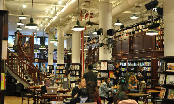 Top 5 design Coffee Shops in Manhattan_Housing Works Bookstore Café0