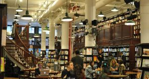Top 5 design Coffee Shops in Manhattan_Housing Works Bookstore Café0