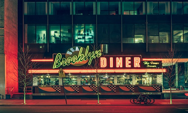 New York City at Night By Franck Bohbot  New York City at Night By Franck Bohbot New York City at Night By Franck Bohbot Feature
