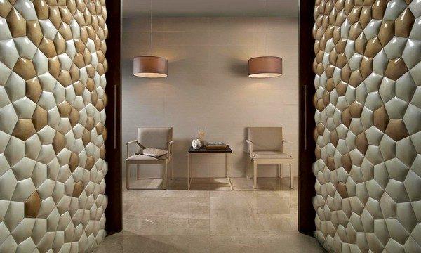 Ceramic walls inspired by mathematics 1  Ceramic walls inspired by mathematics Ceramic walls inspired by mathematics 1