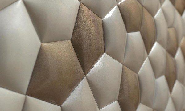 Ceramic walls inspired by mathematics  Ceramic walls inspired by mathematics Ceramic walls inspired by mathematics