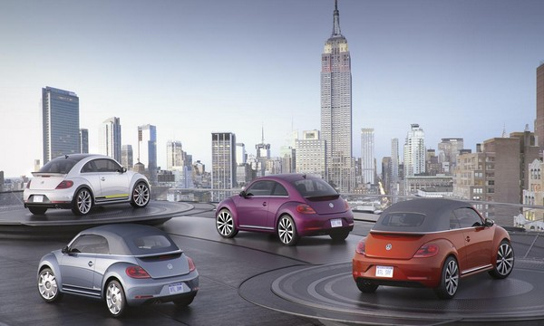 NY Auto Show: Volkswagen beetle special edition