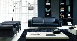 How to decorate your new york apartment with black furniture feature