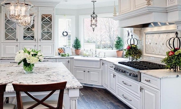 7 design ideas you can steal from dream houses  7 design ideas you can steal from dream houses White cabinets seem to be a major draw in the pinterest dream kitchen as well as granite slabs for the counter tops
