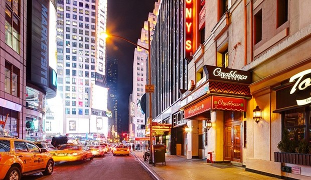 TOP 5 hotels for spending NYE in New York City