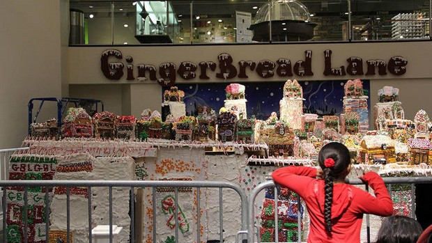 Gingerbread Lane at the New York Hall of Science  20 Photos of NYC Christmas Gingerbread Lane at the New York Hall of Science