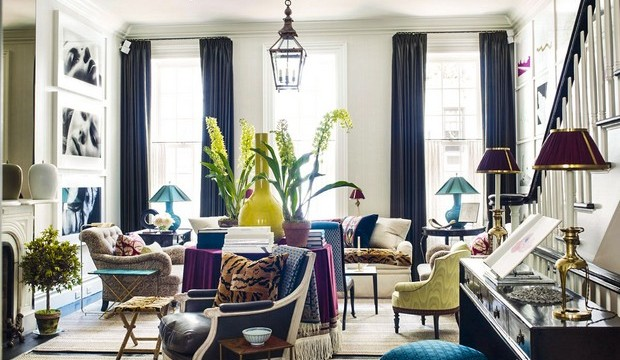 Top Interior Designer NY: Bilhuber & Associates bilhuber associates Top Interior Designer NY: Bilhuber Associates 01 This townhouse on the Upper East Side redefines preconceiptions of glamorous urban living