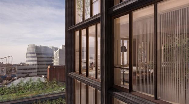SHoP proposes New York's tallest timber-framed building  SHoP proposes New York's tallest timber-framed building capa11