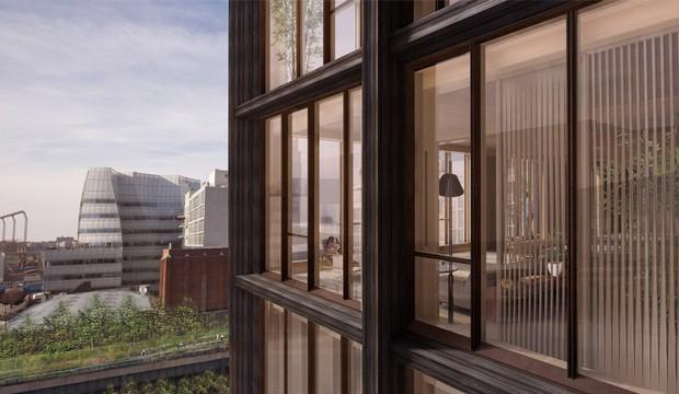 SHoP proposes New York's tallest timber-framed building  SHoP proposes New York's tallest timber-framed building capa12