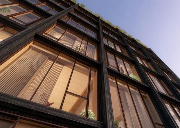 SHoP proposes New York's tallest timber-framed building  SHoP proposes New York's tallest timber-framed building capa2