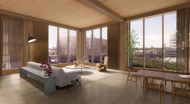 SHoP proposes New York's tallest timber-framed building  SHoP proposes New York's tallest timber-framed building capa21