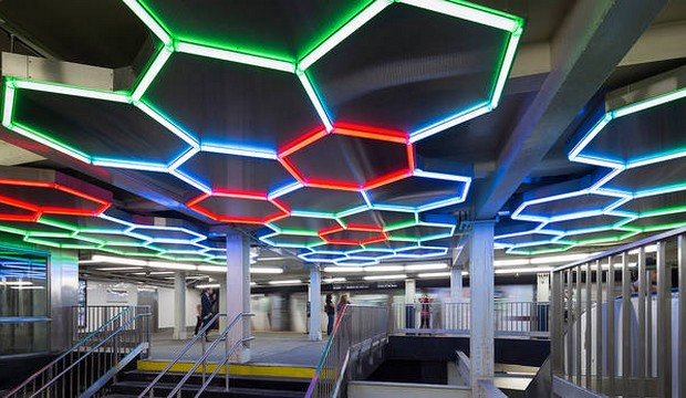 The TOP 5 NYC Subway art instalations