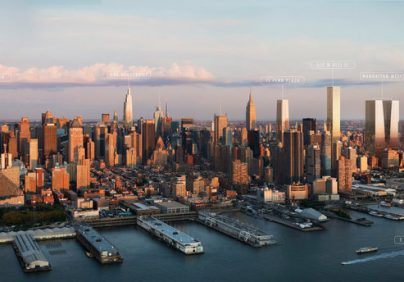 New York City Skyline in 30 years from now