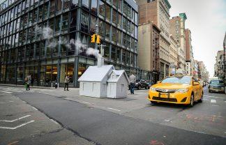 Mark Reigelman Brigns Cozy Cabins to New York's Steaming Manholes