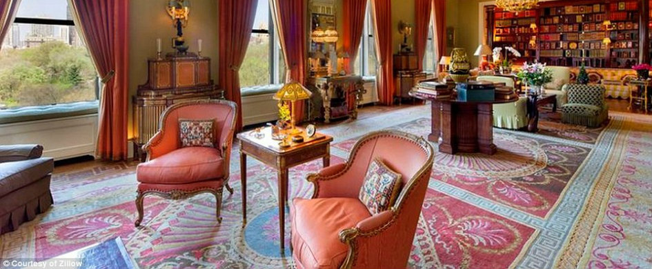 Tour the most expensive apartment in new york city for Most expensive apartment in new york city