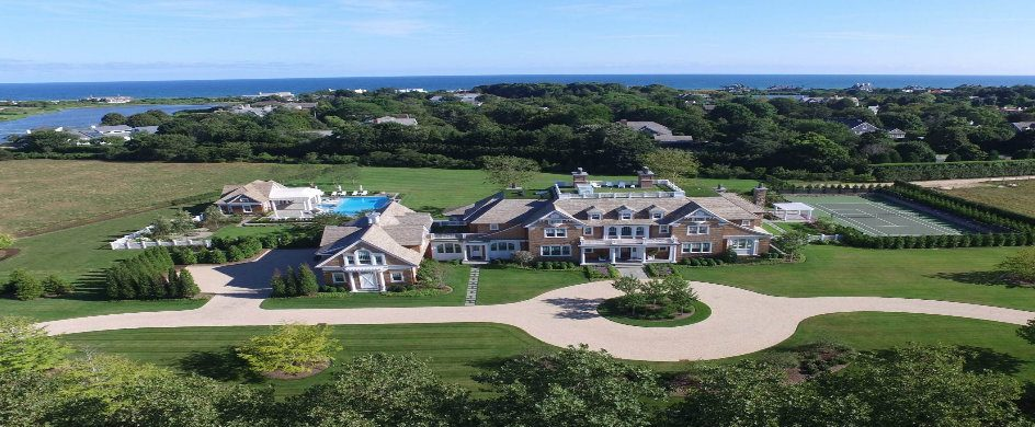 Barn-Style Home in Hamptons