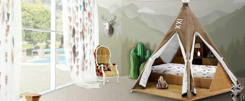 KIDS BEDROOM IDEAS – THE MAGICAL TEEPEE ROOM BY CIRCU