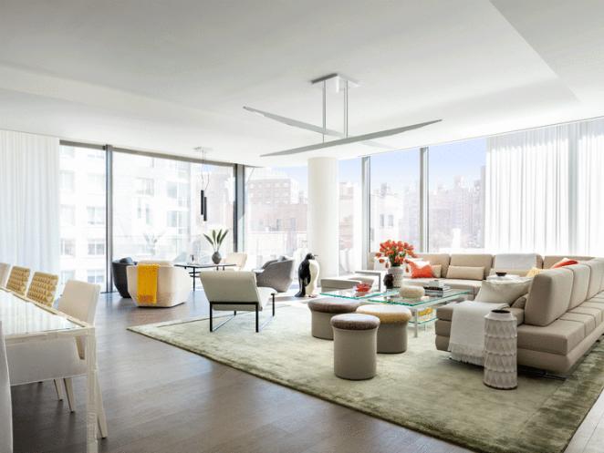 Look Inside Zaha Hadid's First New York City Residence new york city residence Look Inside Zaha Hadid's First New York City Residence Look Inside Zaha Hadids First New York City Residence3