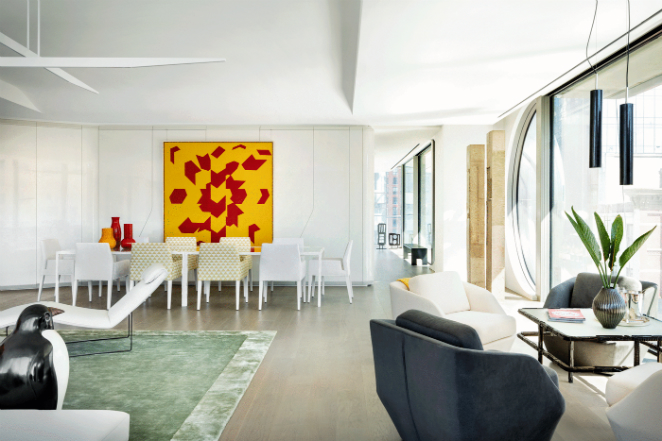 Look Inside Zaha Hadid's First New York City Residence new york city residence Look Inside Zaha Hadid's First New York City Residence Look Inside Zaha Hadids First New York City Residence5
