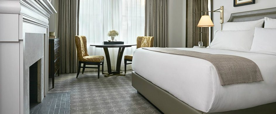 InterContinental New York Barclay Hotel with luxury interiors by HOK
