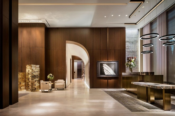 Yabu Pushelberg designed the interiors of Four Seasons Downtown New York Yabu Pushelberg Yabu Pushelberg designed the interiors of Four Seasons Downtown New York Yabu Pushelberg designed the interiors of Four Seasons Downtown New York 2