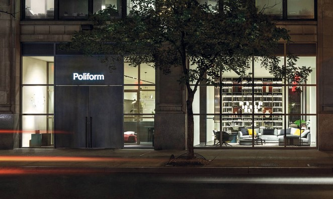Best Pieces at POLIFORM Store in New York poliform Best Pieces at POLIFORM Store in New York poliform madison avenue new york 1 211892 1