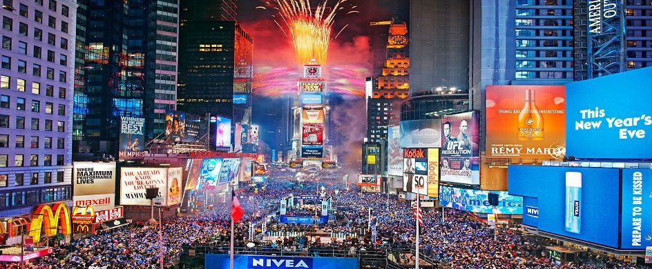 5 best events for the New Year's Eve in NYC