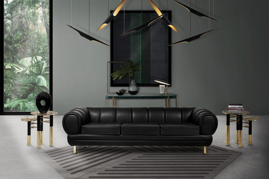 Admirable 5 Amazing Black Leather Sofas For Your Luxury Living Room Andrewgaddart Wooden Chair Designs For Living Room Andrewgaddartcom
