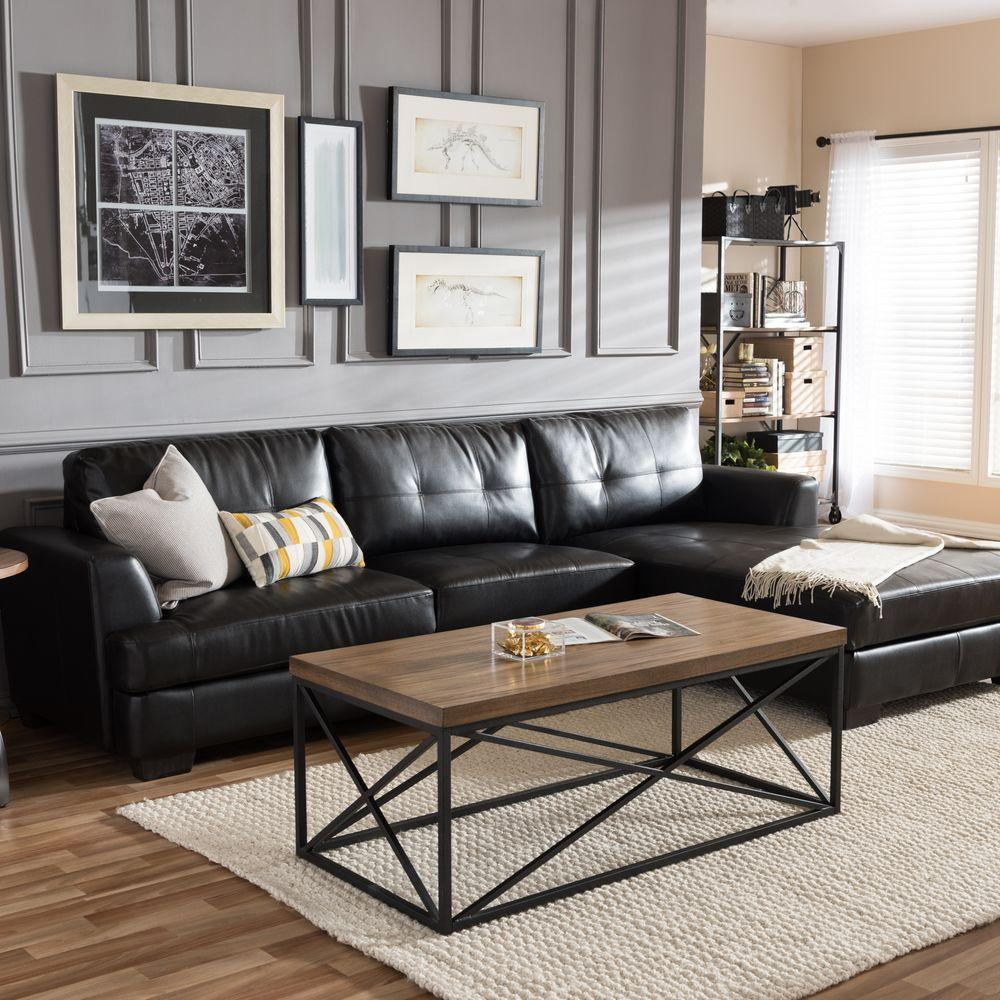 5 Amazing Black Leather Sofas For Your Luxury Living Room | New York ...