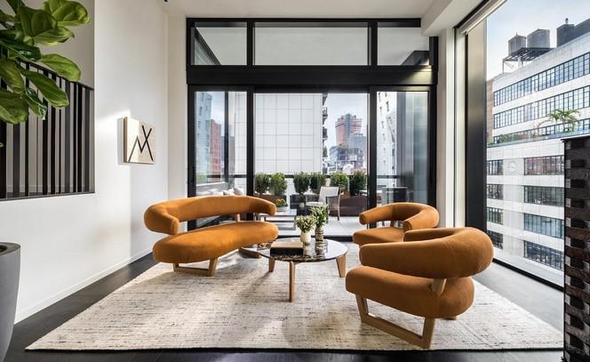 Peter Marino's Art-Filled New York Apartment at The Getty New York Apartment Peter Marino's Art-Filled New York Apartment at The Getty Peter Marinos Art Filled New York Apartment at The Getty 2