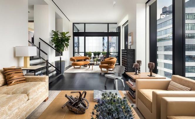 Peter Marino's Art-Filled New York Apartment at The Getty New York Apartment Peter Marino's Art-Filled New York Apartment at The Getty Peter Marinos Art Filled New York Apartment at The Getty 6
