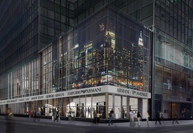 Giorgio Armani New York's New Luxury Flagship Store and Residences giorgio armani Giorgio Armani: New York's New Luxury Flagship Store and Residences Giorgio Armani New Yorks New Luxury Flagship Store and Residences 8